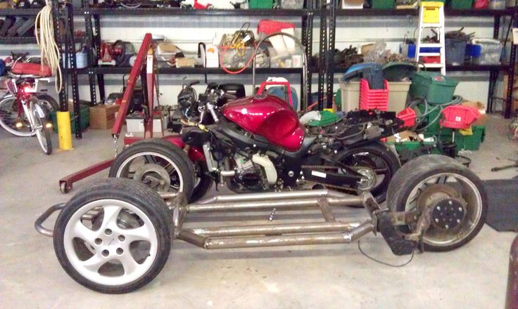 Hayabusa Reverse Trike | Build Threads