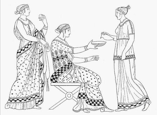 Древние Греки уделяли огромное внимание своим прическам. В классической Греции для мужчин было модным иметь короткие, но завитые волосы. Жен...