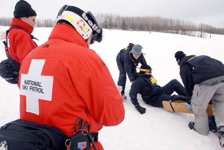 Certified National Ski Patrol member Winter jackets