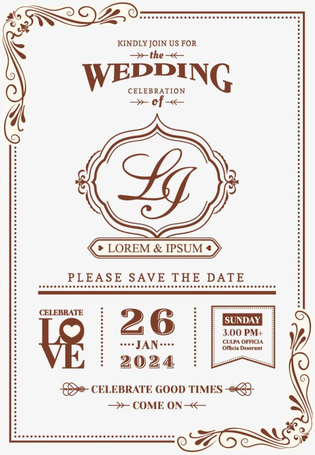 Vintage Lace Wedding Invitation Wedding Clipart European Style Lace Vintage Vector Png Transparent Clipart Image And Psd File For Free Download Undangan
