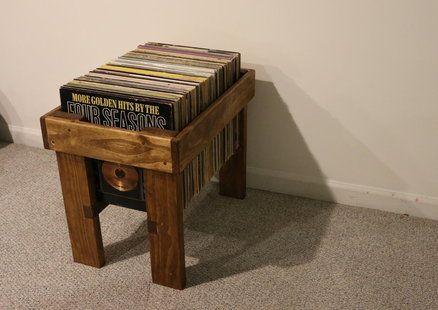 Vinyl Record Storage Case w/ Video