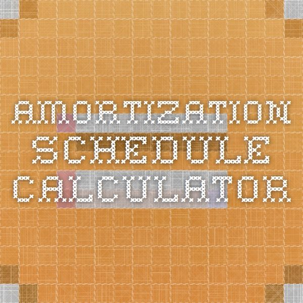 Best 25+ Amortization schedule ideas on Pinterest Student loan - sample schedules excel amortization schedule