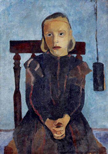 Paula Modersohn-Becker - Girl Portrait