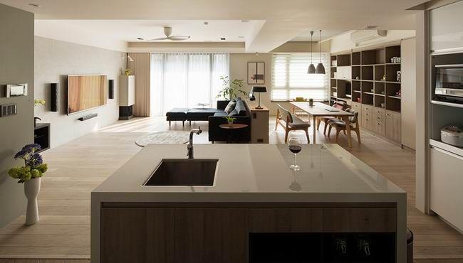 168平米全家人的游乐空间 / 吉亩室内设计 - 居宅 - 室内设计师网