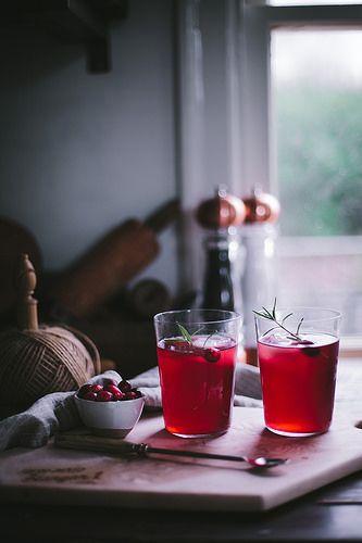 CranRaspberry Sparkler by Eva Kosmas Flores