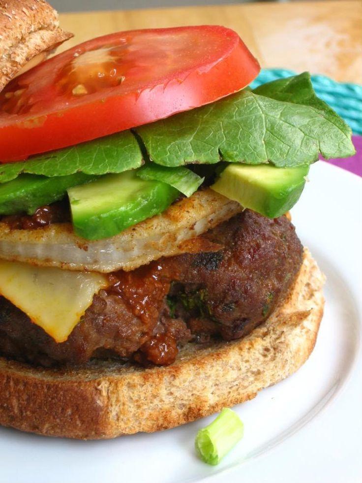 Texas Tumbleweed Burger...