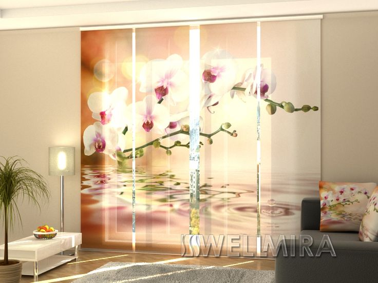New Set of Panel Curtains Perfect Orchid Wellmira ModernCurtains PanelCurtains Curtains