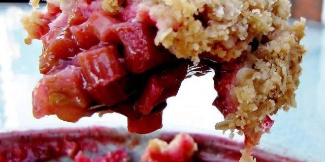 Crumble - pečené ovocie s mrveničkou - Tinkine recepty