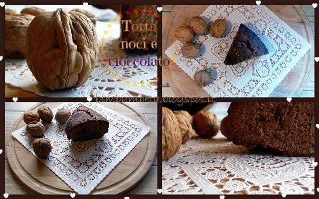 Torta noci e cioccolato di Beta