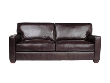 wes stock Living Room FELIX ESPRESSO LEATHER SOFA WES467ESPST - Walter E. Smithe - 10 Chicagoland locations in Illinois and Merrillville, Indiana