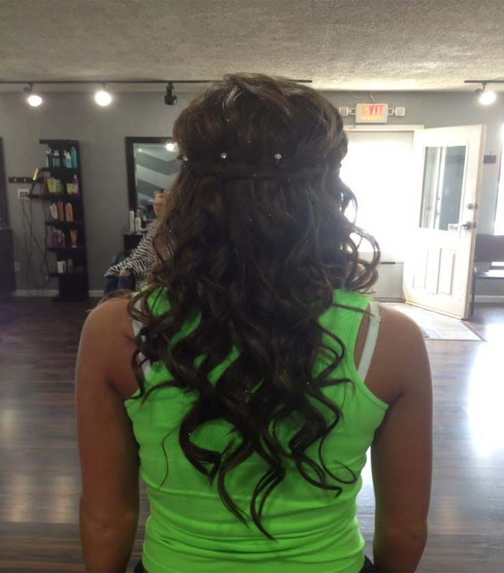 Prom Hairstyles Down Curly