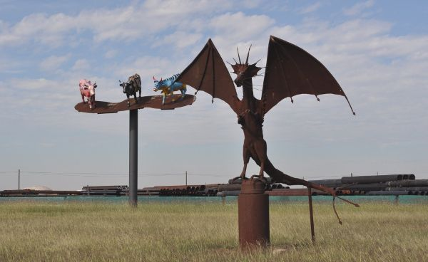 The Eclectic Menagerie Park at Texas Pipe & Supply