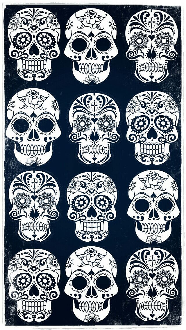 IPhone WallpaperCalaveritas De Azucar