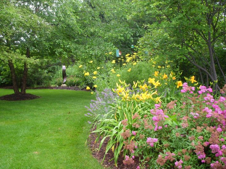 Bright Low Maintenance Landscaping