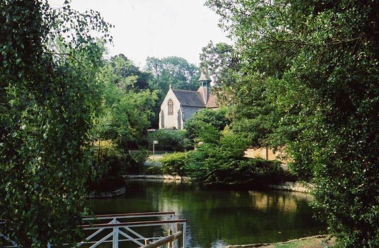 St Blasius Church and pond, Shanklin