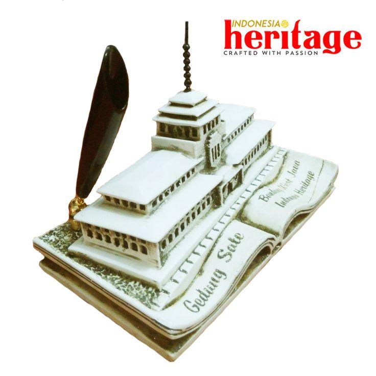 Jual Tempat Pulpen Gedung Sate - Indonesia Heritage   Tokopedia