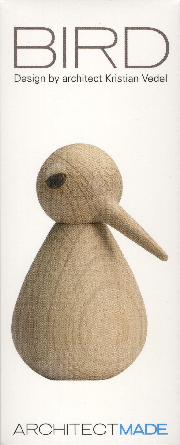 vogel design Kristian Vedel - uitgave architectmade - verpakking