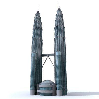 Petronas Towers 3D Model - 3D Model