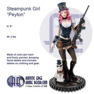"Steampunk Girl ""Peyton"""