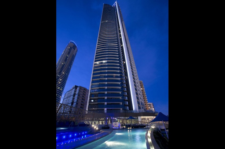 Soul at surfers paradise lit up at night #Soul #Iconic #SurfersParadise #GoldCoast