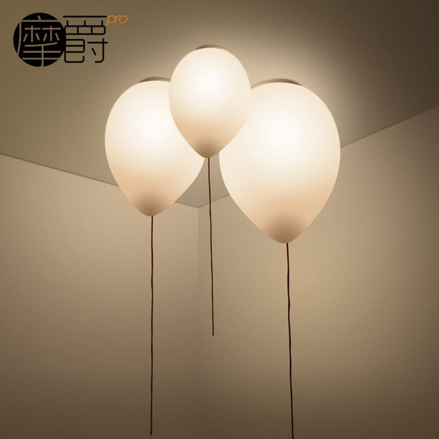 Moderne Mode Ballon Lamp Plafondlamp Kleurrijke Bady Kind Kamer Slaapkamer Balkon Plafondlamp Bedroom Light Fixtures Bedroom Ceiling Light Kids Room Lighting
