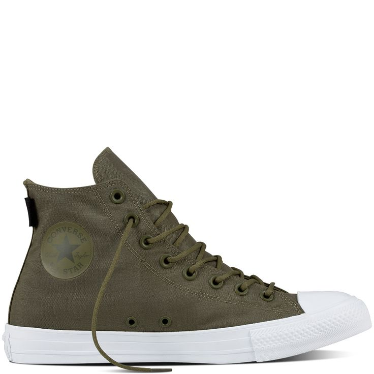 Chuck Taylor All Star Cordura Couleur: Medium Olive/Herbal/White / Style: