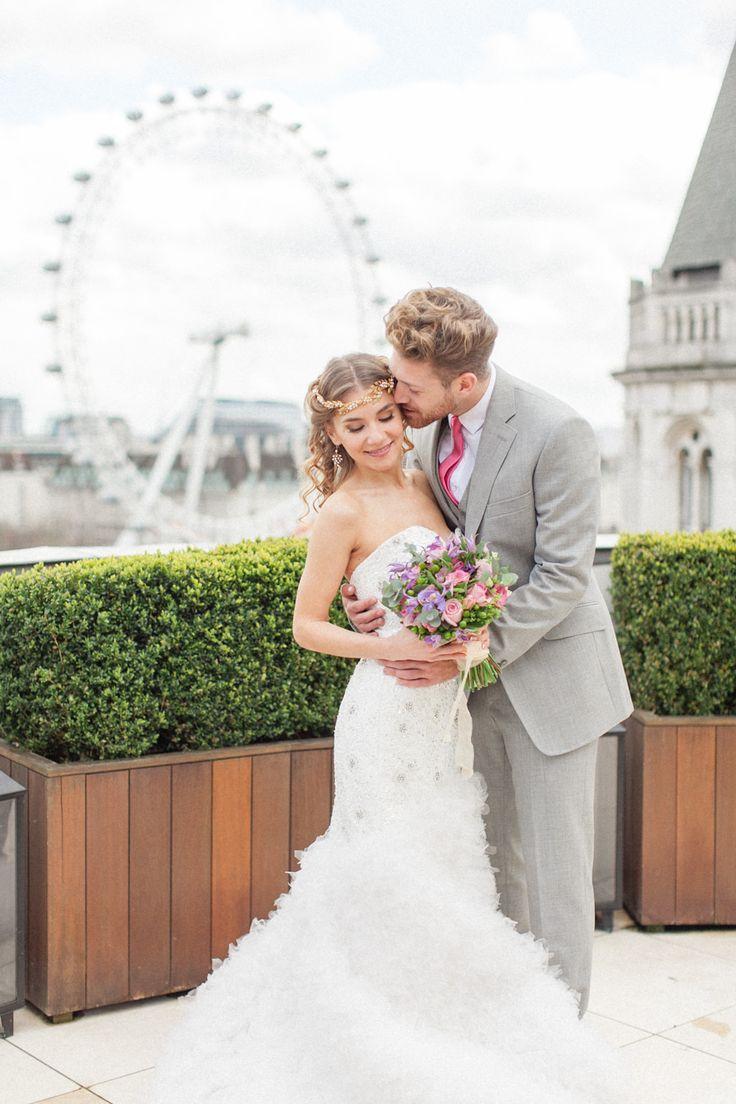 Luxury Wedding Inspiration From The Corinthia Hotel in London. Flowers by Amie Bone Flowers. Image by Roberta Facchini. London wedding inspiration- ROCK MY WEDDING | UK WEDDING BLOG Image by http://www.robertafacchini.com/