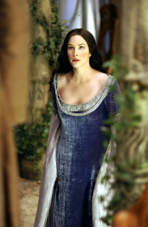 Liv Tyler as Arwen Undómiel in The Lord of the Rings - The Two Towers (2002).