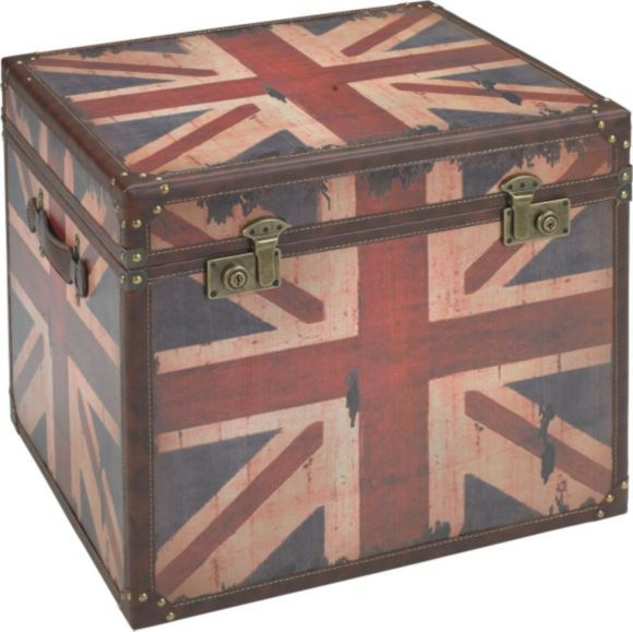 """""""Förvaringskista med Great Britain-motiv."""""""
