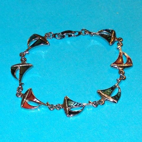 Shell Sailboat Bracelet - Mookie Designs Vintage