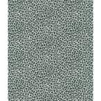 Black Cheetah Print Wallpaper Sample, Blacks