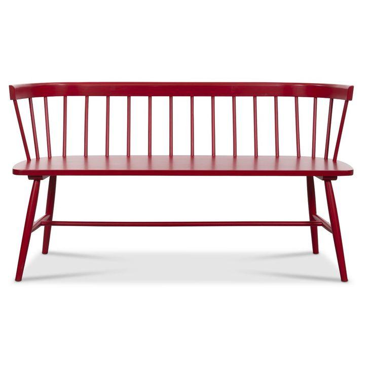 Köp - 2490 kr! Pinnsoffa Sandhamn - Röd. Sandhamnröd pinnsoffa i välkänd retrodesign. En klassiker i rödlackat massivt