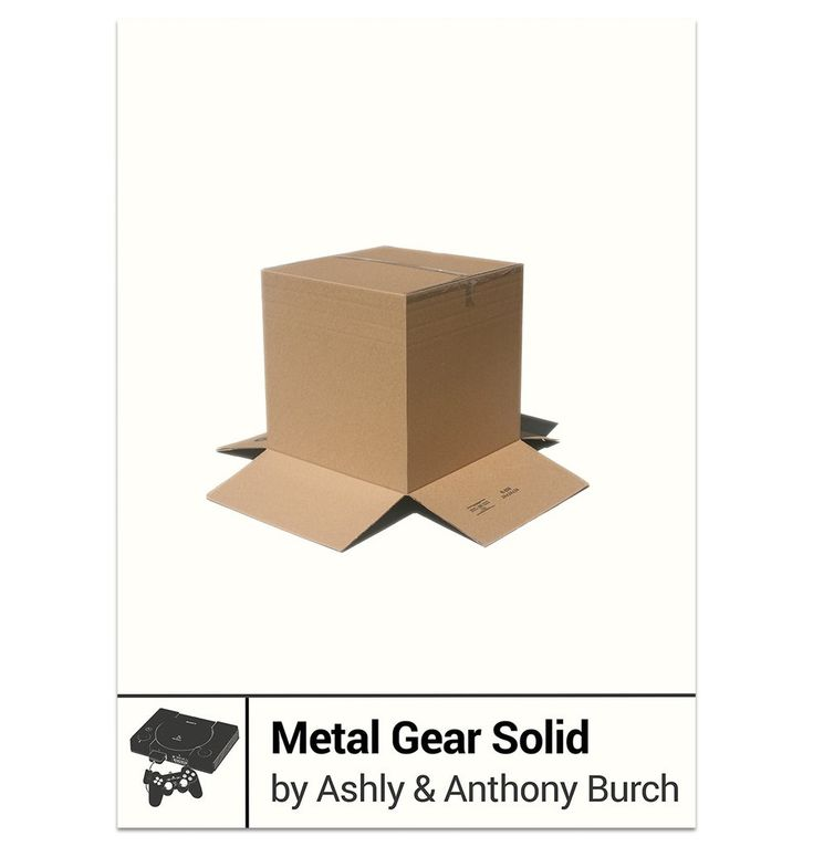 Metal Gear Solid by Ashly and Anthony Burch