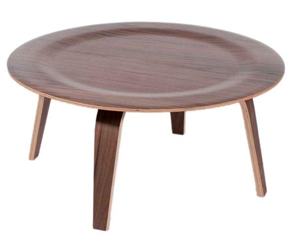 Green Room: Replica Eames Coffee Table Wood (CTW) Walnut 86cm $220