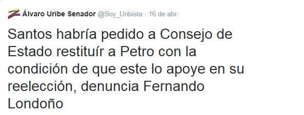 @Alvaro Uribe DENUNCIO:  pic.twitter.com/QhwVoQ56kQ