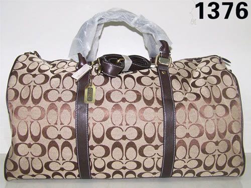 Original MEN39S WOMEN39S COACH TRAVEL BAG DUFFLE BAG LUGGAGE BAG