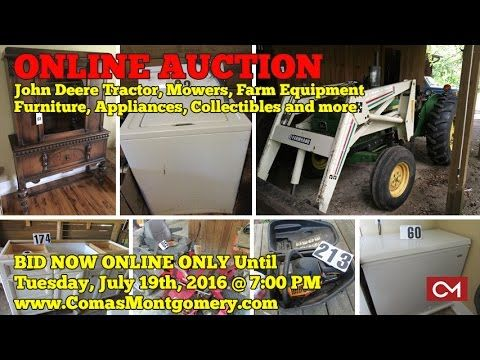 For Sale: 1977 John Deere 2040 Diesel Tractor - Online Auction ends July...