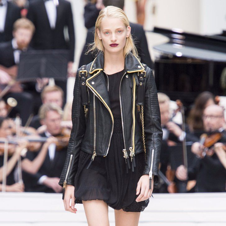 Pin for Later: Burberry Is Back in Black (With a Backpack) For Spring 2016