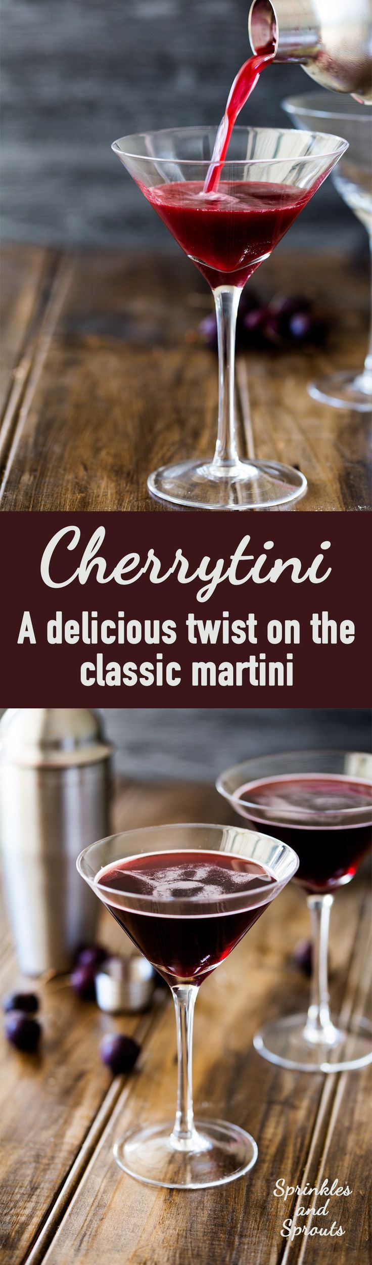 This cherrytini is the perfect fruity martini! It tastes like an adult version of cherry drop sweets. Packed with cherry flavour and pulling a great…