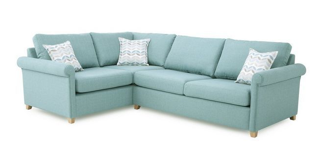 Anya Right Arm Facing Corner Deluxe Sofa Bed  | DFS