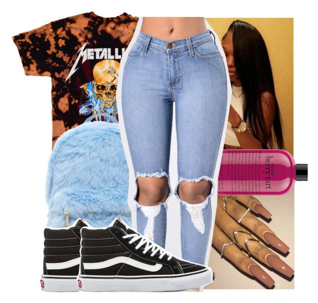 """"""""""" by kodakdej ❤ liked on Polyvore featuring Forever 21, philosophy and Vans"""