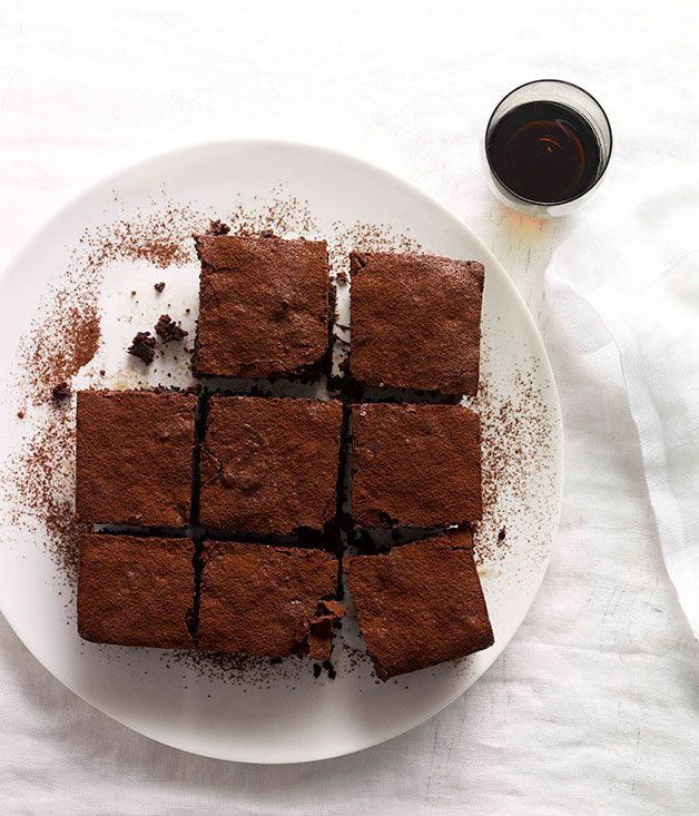 Australian Gourmet Traveller dessert recipe for chocolate and beetroot cake.