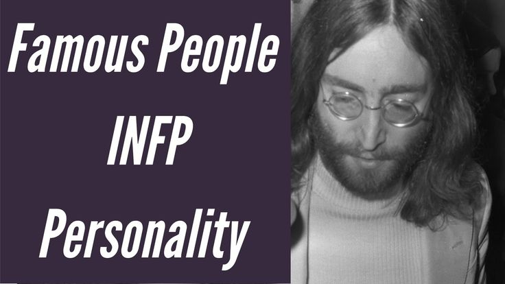 INFP Fictional Characters Personality types using the Myers Briggs Type Indicator (MBTI) See https://www.youtube.com/watch?v=pr2uoAWI818