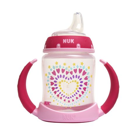 NUK® Learner Cups are designed to help transition your baby from breast or bottle to cup easier.