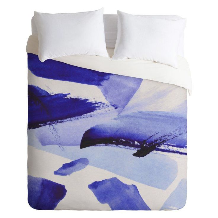 Georgiana Paraschiv Blues Duvet Cover by DENY Designs - 61903-DLITWI
