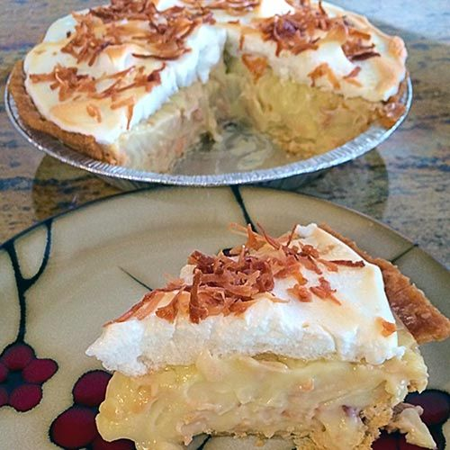 """Coconut Cream Pie 