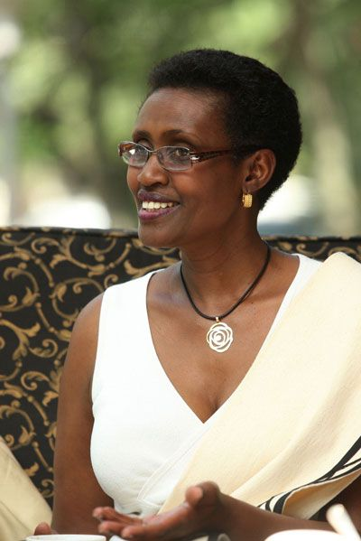 Winnie Byanyima, Executive Director of Oxfam International