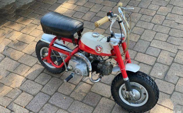 Hard Tail Suvivor 1968 Honda K50a K0 Minitrail Honda Mini Bike Hard Tail