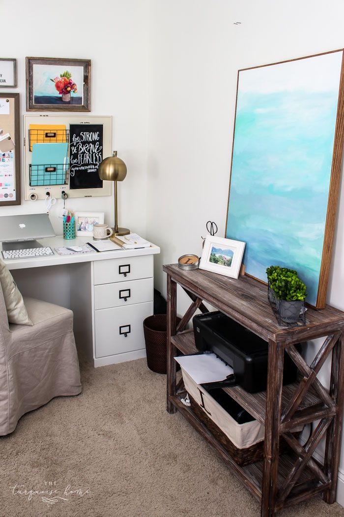17 best images about the turquoise home on pinterest for Best home office electronics