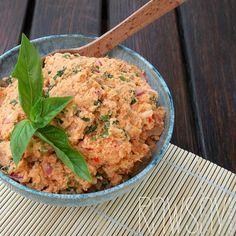 Паштет из нута с овощами - Сыроедение, рецепты и диеты - Rawsay